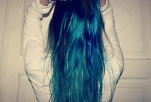Dip dye hair <3
