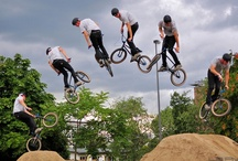 photos of the bike jump in the sky