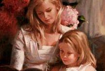 Beautiful Paintings by Richard S Johnson / Richard S Johnson Paintings