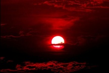 Red sky & sunset photography / Red sky & sunset