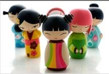 "Beautiful photos of "" Kokeshi"" dolls in japan  / "" Kokeshi"" dolls in japan"