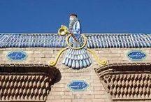 YAZD - IRAN  / City of temples & Historical Windward