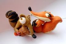 cute clay critters