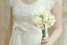 Ślub żółty narcyze żonkile / Inspiracje ślubne w żółtym kolorze, z narcyzami i żonkilami jako motywami ślubnymi i weselnymi