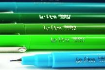 Pens + Pencils / A mild obsession with writing and sketching tools has led us to this collection.