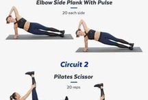 Workout at Home / Best exercises to workout at home. Most of these exercises don't require any fitness equipment. Learn how to lose fat and build muscle in your arms, abs, back and thighs.