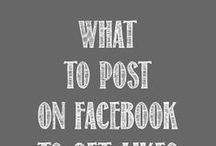 Facebook (for business) / Facebook is the largest social media network right now. Make sure you know how to use Facebook specifically for your business. #socialmediamarketing #business