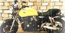 Suzuki GSX 750 AE / Suzuki Inazuma  Bobber Scrambler
