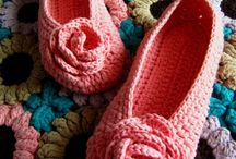 Ladies crochet shoes & socks / Crochet patterns and ideas for ladies crochet slippers and shoes