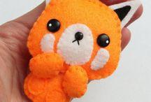 Felt Cuties / Cute felt gift ideas and patterns