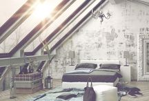 Light and bright rooms / Beautiful clean designs