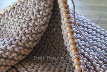 Knitting patterns, ideas & tutorials / Modern knitting tutorials, ideas and patterns