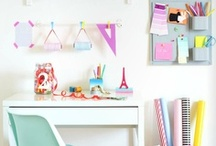 Créer et ranger / Craft rooms, work spaces, ateliers, rangements