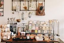 Craft display / L'art et la manière de présenter