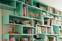 Bibliothèque - Library / Quand ranger ses livres devient une oeuvre d'art !