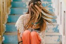 Boho - Gypsy / Vêtements - sacs - ambiance