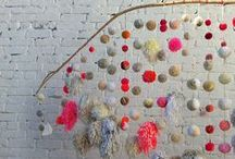 Hanging / Mobiles, dream catchers, wind chimes...