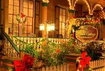 B&B Dec. Holidays / Festive bed and breakfasts who decorate for the December holidays including the Christmas season.  http://www.bedandbreakfastblogging.com
