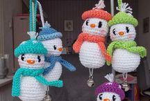 Amigurumi Weihnachten Winter