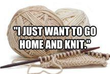 Knitting & Crocheting / by Siân Islip