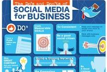 Social Media Infographics for Business / I try to find the best social media infographics that cover a wide range of industries, platforms and disciplines and visually provide us great statistics, information ideas, tips, and insights. #socialmedia #marketing #infographics #infografia / by Neal Schaffer | Maximize Social Business