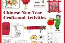 Chinese New Year / Chinese New Year preschool and kindergarten crafts, activities, games, printables, emergent reader books, dragon crafts, dragon mask, dragon dance activities, and much more to ring in the Chinese New Year.