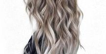 HAIR TRENDS / Blunt cuts, bright coloured tresses and long curly locks. Were giving you the inside scope on the current hair trends YOU need to try.