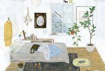 Illustration / by Lina Khesina