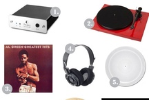 Turntable Kitchen's Gift Ideas / Turntable Kitchen's favorite food and music products.