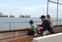 Keeping Up with the Joneses' in the Isle of Wight / Park Resorts sent the Jones family to its Lower Hyde Holiday Park on the Isle of Wight for three nights from Monday 24 June and asked our Facebook fans to suggest what activities are great for the family to get up to whilst there. #holidayliveuk
