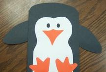 Penguin activities and crafts / Penguins, Antarctica, Tacky the Penguin crafts, activities, games, printables and more penguin ideas for preschool and kindergarten.
