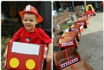 Parties - Fire trucks & Cars