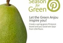Pear-fect Season for Green / For the Love of Pears: The Pear Aficionado #springforpears #usapears