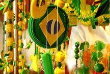 Brazil themed party