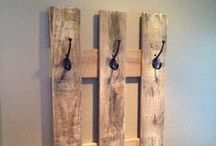 Wood & Metal Home Decor / Handmade wood and metal home decor. Made from new, reclaimed, recycled, and reused materials. / by Red Beard Labs, LLC