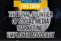 Employee Advocacy / Employee advocacy in the world of social media is having your employees advocate for your company or brand to their social networks. It is a relatively new concept in social business that is gaining traction. This board will focus on best practices to help your company, or to help you help your client, leverage your most precious assets: your employees!  #employeeadvocacy #socialbusiness #socialmedia