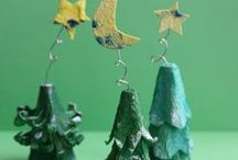 Christmas Tree Crafts and Activities / Christmas trees and pine trees are a symbol for Christmas all around the world. Enjoy some Christmas tree book activities, Christmas tree crafts and artworks and Christmas tree games for preschool and kindergarten.