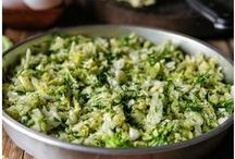 Salads, vegetables, sides