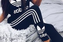 Adidas shoes/clothes