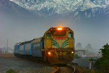 Rail Travel,Trams & Tracks / by Delerie