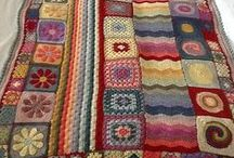 Crochet / crochet blanket, throw ideas pillow