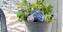 All things Garden / Stepping stones Garden ideas
