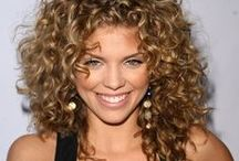 curly / Curly hairstyles, long curls, short curls, curly hair for women