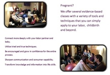 Preparing For Birth - Our Classes / We offer pregnancy, childbirth, postpartum and breastfeeding classes.