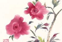 Watercolor Paintings / Peace and inspiration