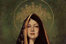 Divine FEMININE / Honoring the feminine in us all: compassionate self-care, mystery, surrender...