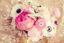 ELEGANT FLOWERS / Bouquets (& ideas of things to add to it), Centerpieces & More