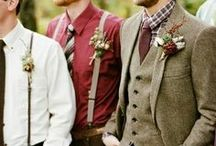 INSPIRATION FOR THE GROOM / It's his wedding too!