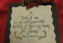 Christmas crafts & tutorials / by Christie Westbrook Heckler