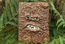 TreeMan Journal / Perfect gift for kids & adults.  Strange, mysterious, magical… definitely not a normal journal!  TreeMan Journal makes writing and drawing fun.  Buy it at http://www.magicalworldjournals.co.uk/shop/treeman-journal/  #gift #present #children #journaling